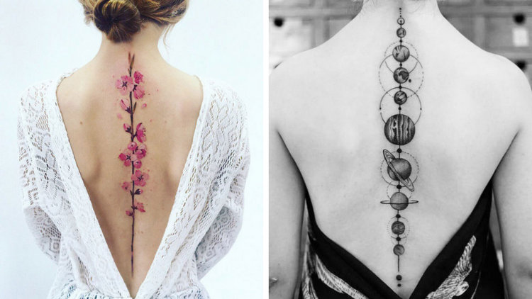20 Best Spine Tattoo Ideas for Your Inspiration