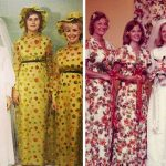 Old Fashioned Vintage Bridesmaids Dresses