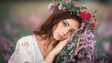Beautiful Russian Women Portrait Photography by Sergey Shatskov