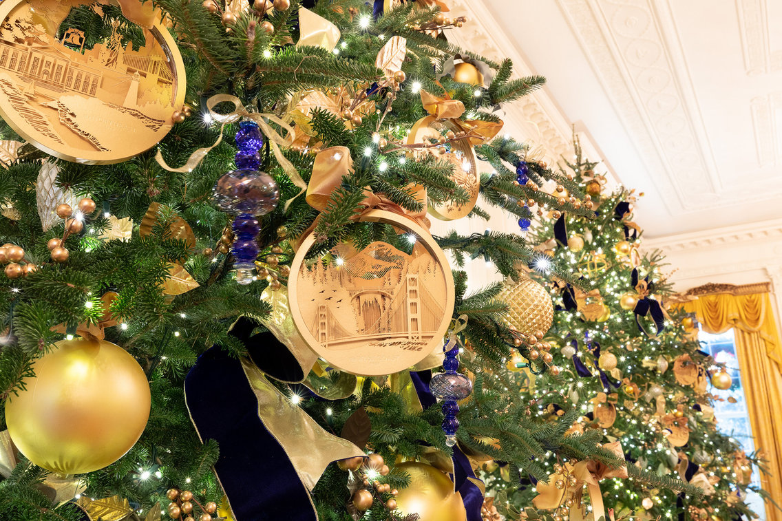 White House Christmas Tree Decoration 2018