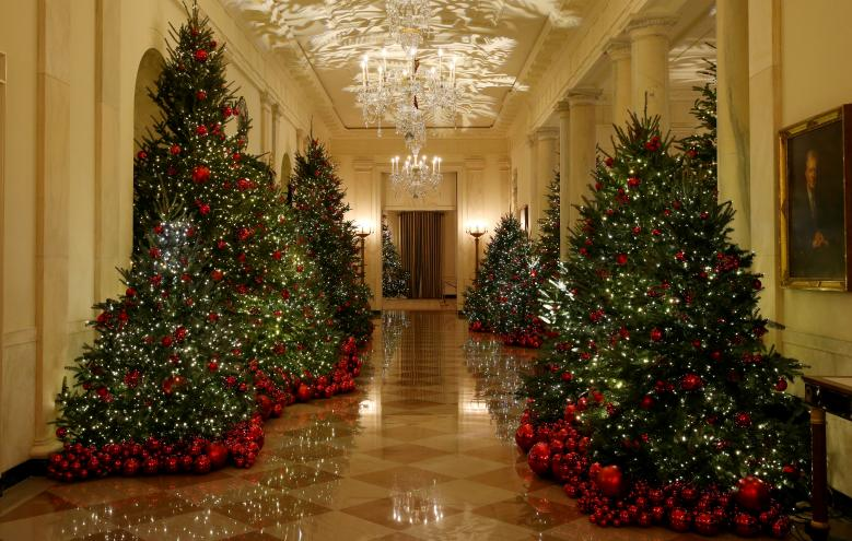 White House Christmas Decorations 2018 Photos