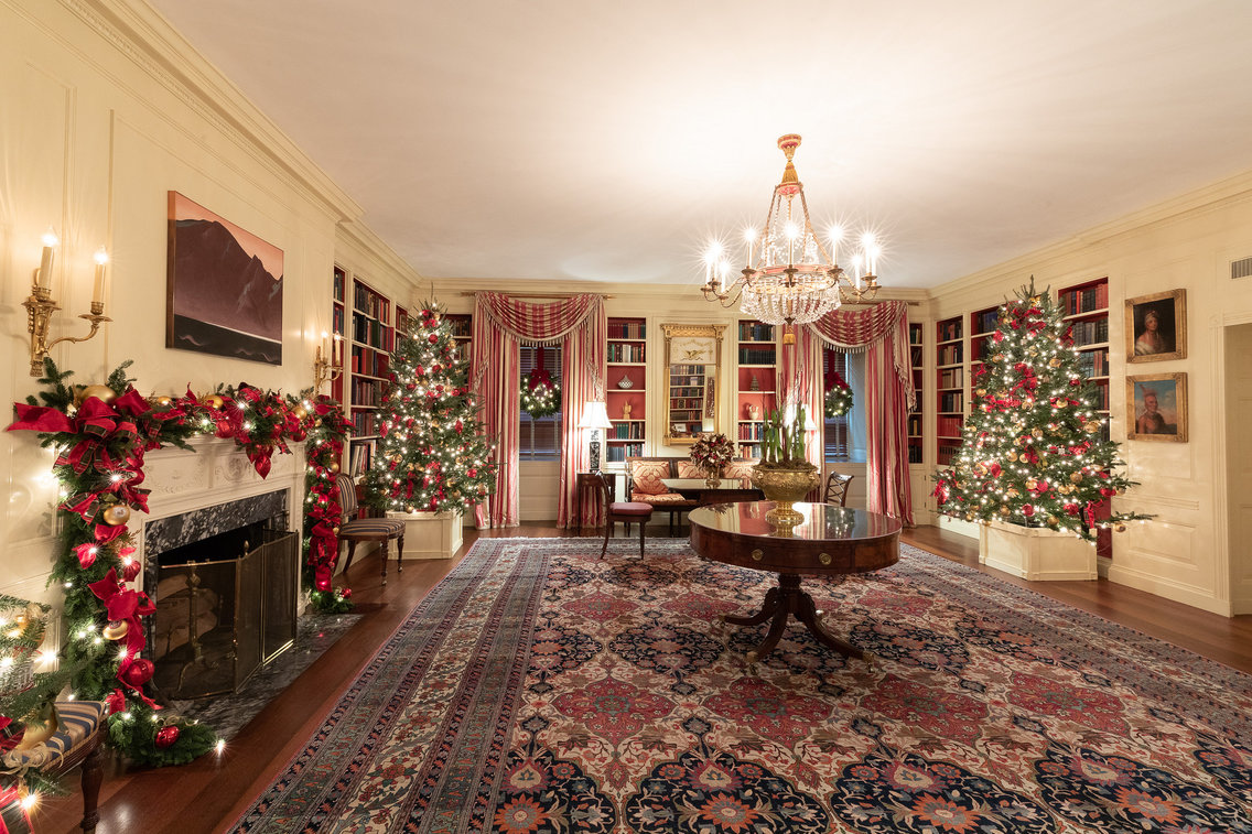 2018 Christmas Decorations White House Photos 33