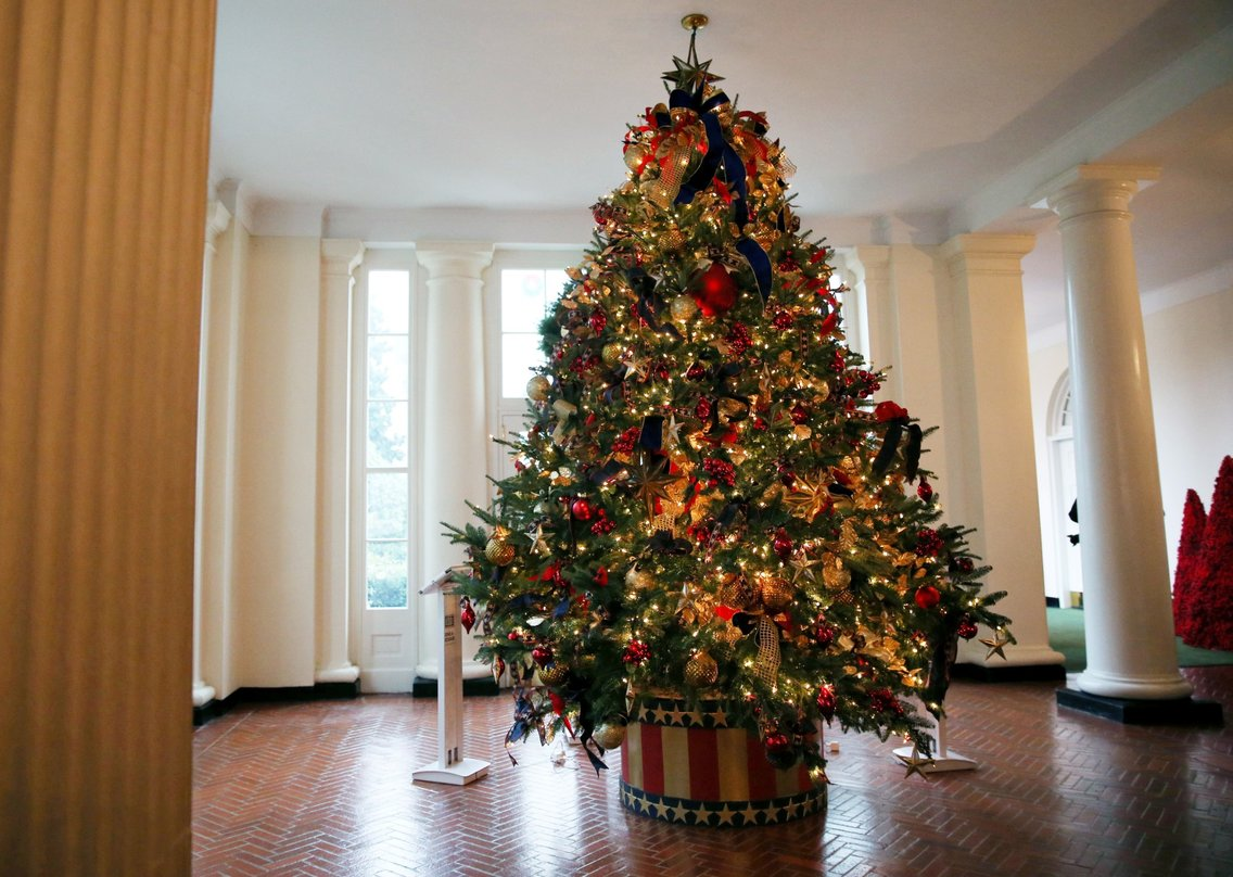 White House Christmas Tree 2018 Photos