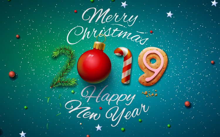 Best Of New Year 2019 Wallpapers Hd For: 2019 Happy New Year HD Wallpapers For Desktop
