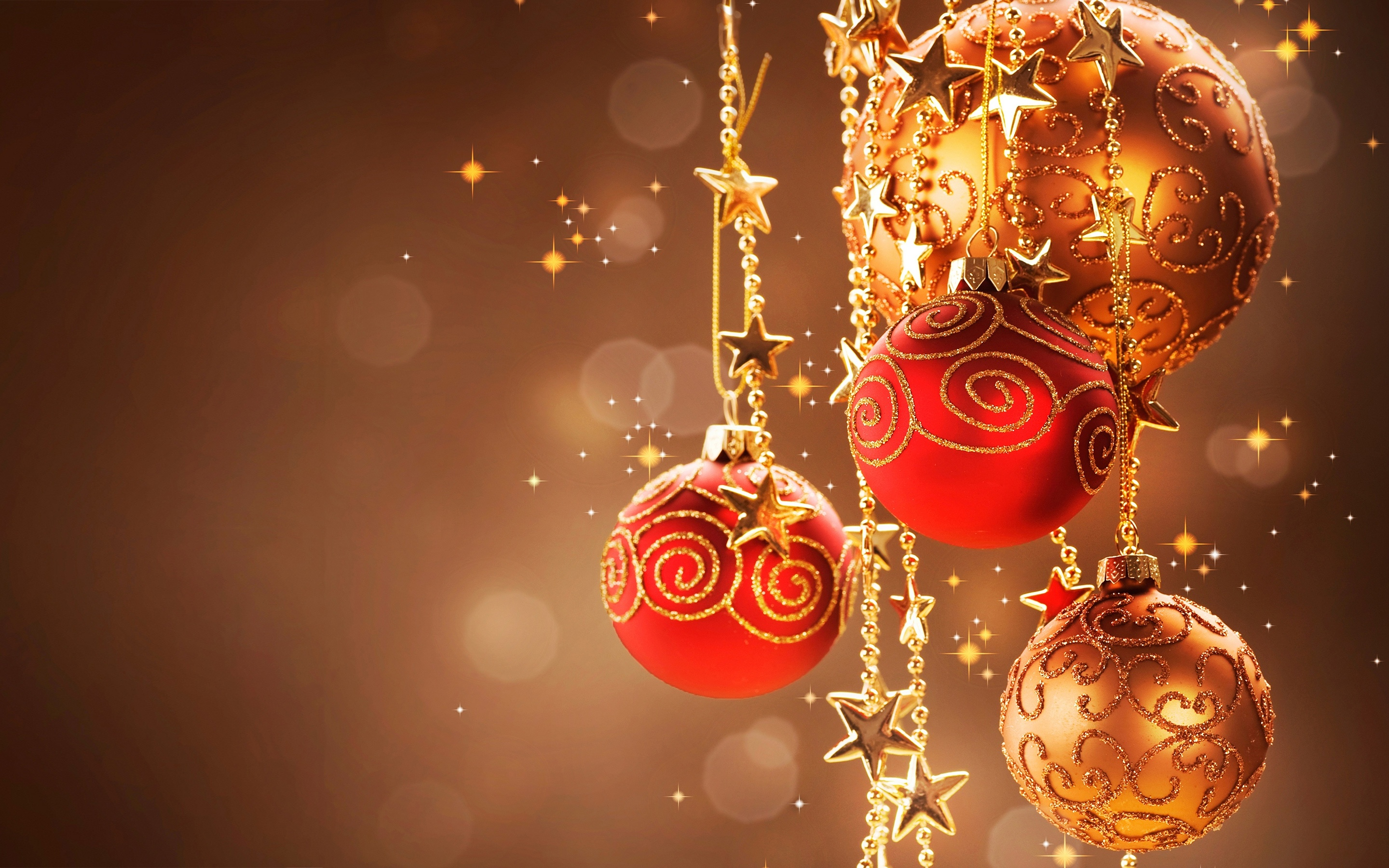 Christmas Ornaments Ball Image Wallpaper