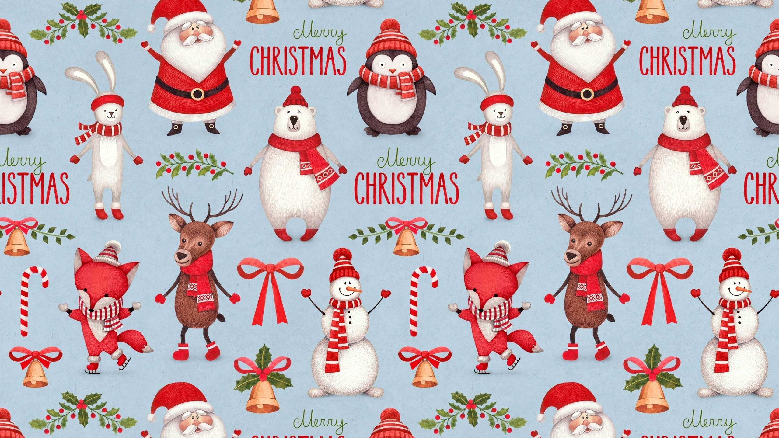 Christmas Santa Claus Wallpaper High Quality