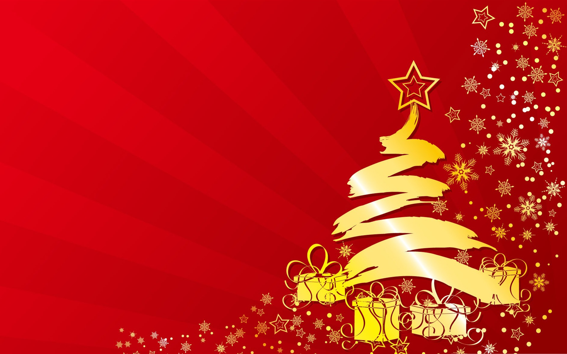 Christmas tree Illustration Desktop Picture Wallpaper 1920x1200