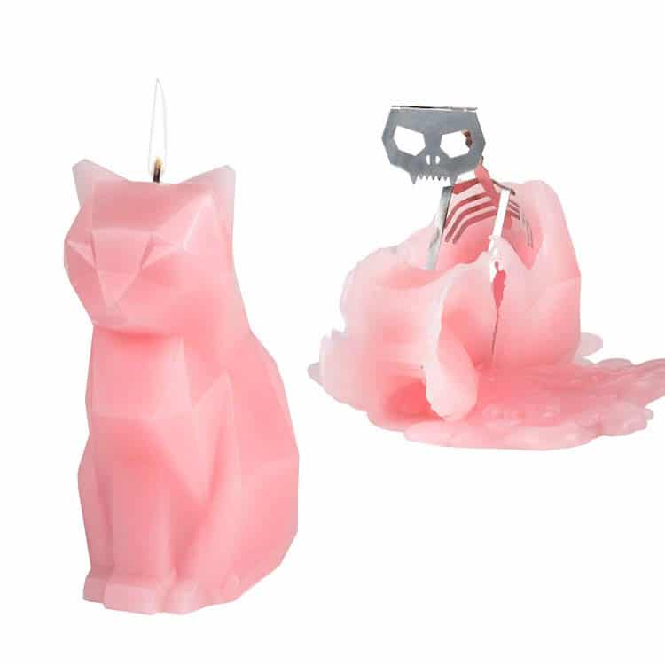 Melting Cat Candlegifts for cat lovers