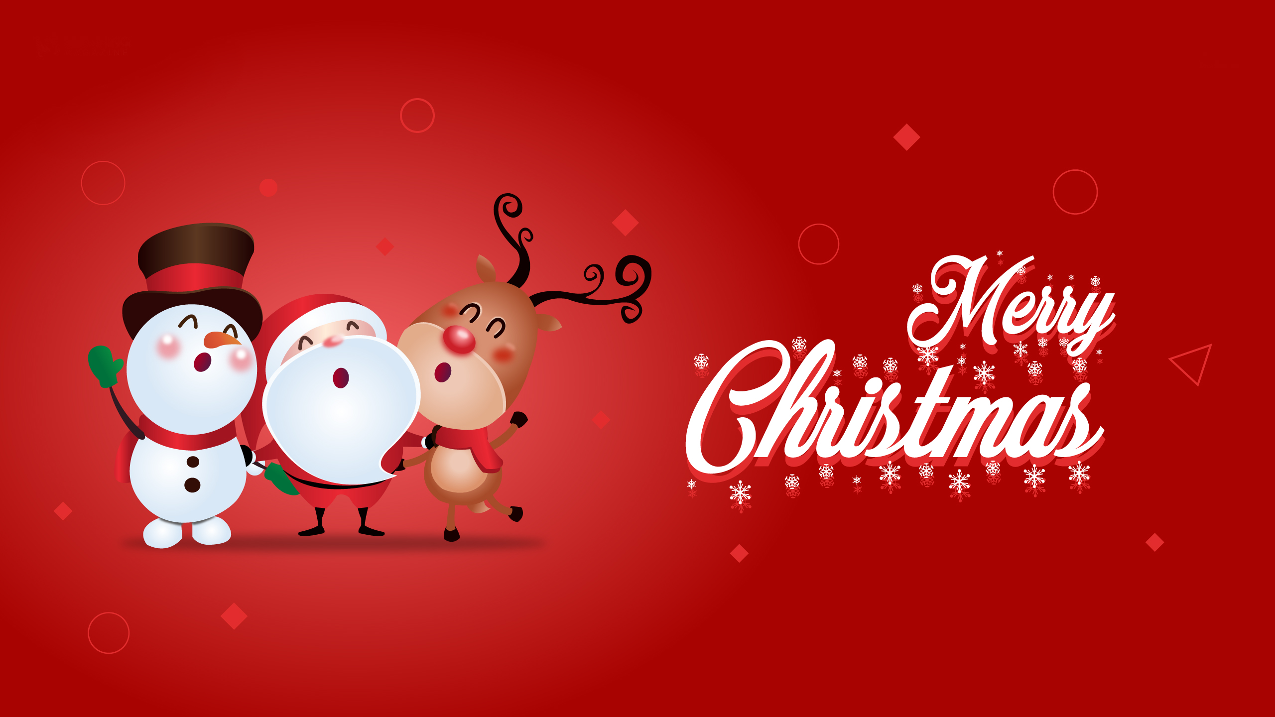 Merry Christmas Wallpaper 2560x1440