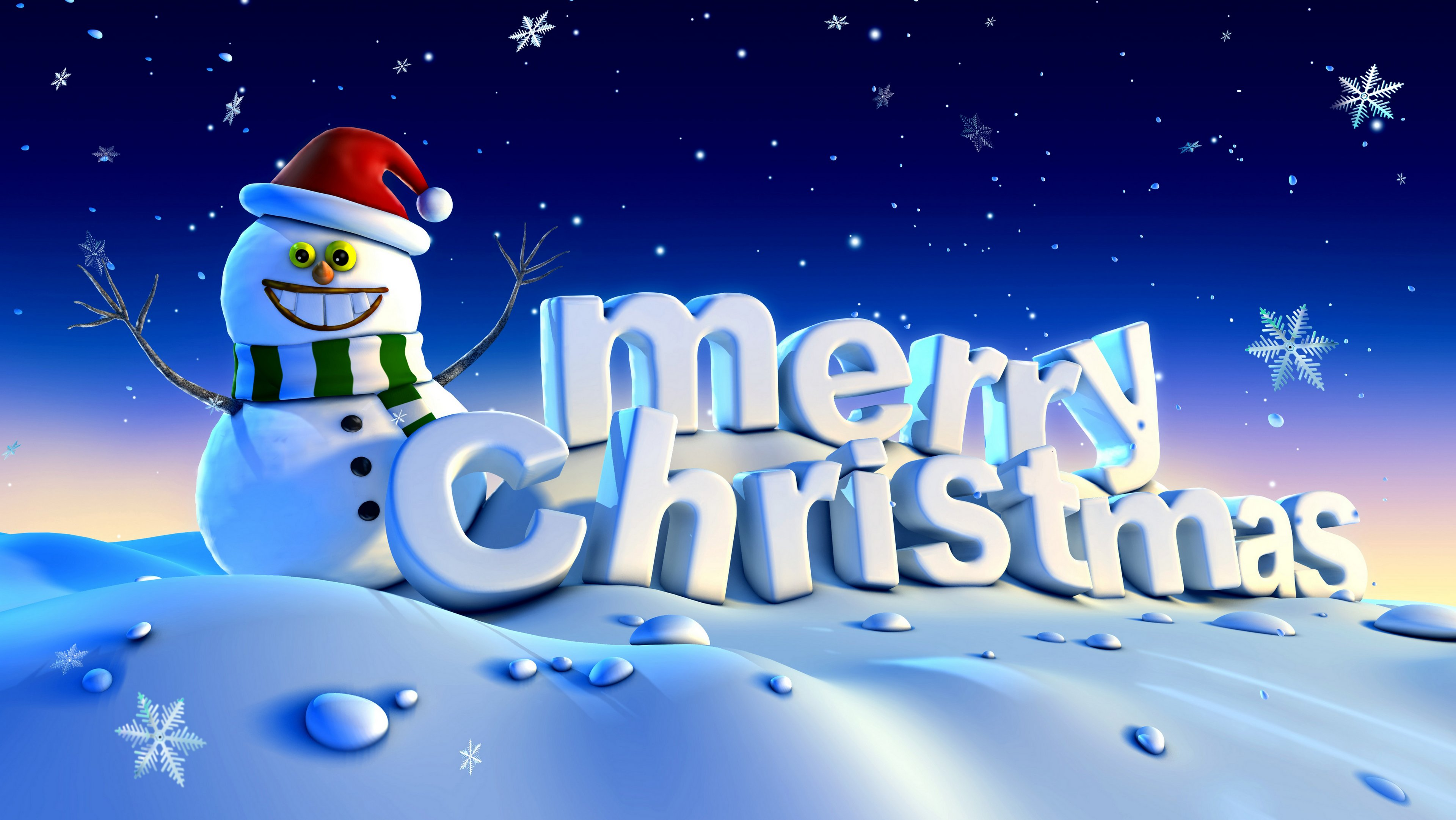 Merry Christmas background high resolution 4k