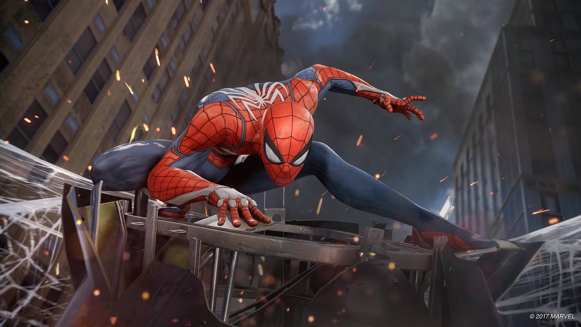 Spider Man Desktop HD Wallpaper 1920x1080