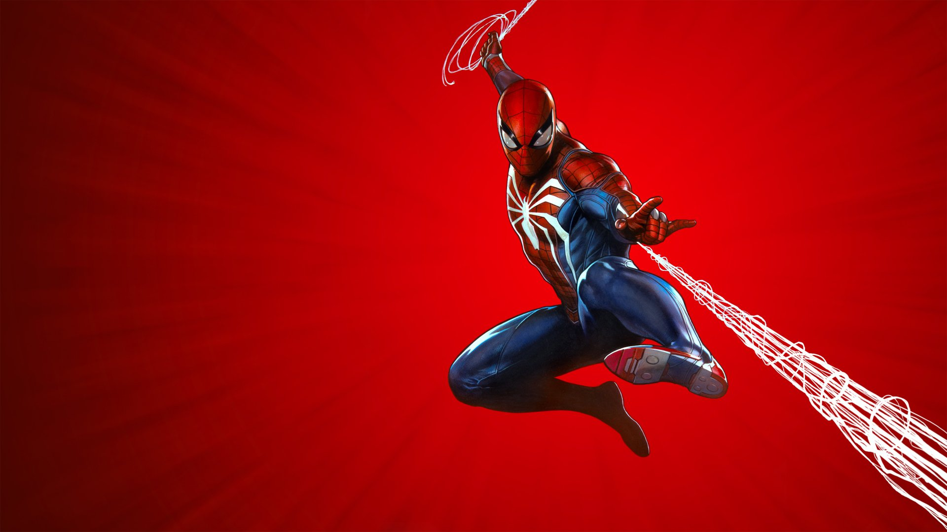 Spider Man PS4 Game Cover Background 1920x1080