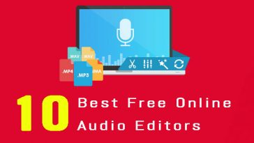 10 Best Free Online Audio Editors for Editing Music Online