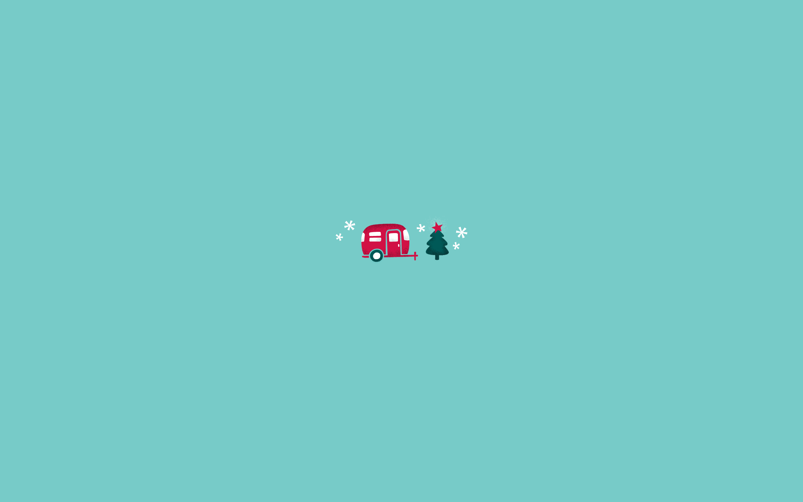 Christmas Minimalist Wallpaper 2560x1600