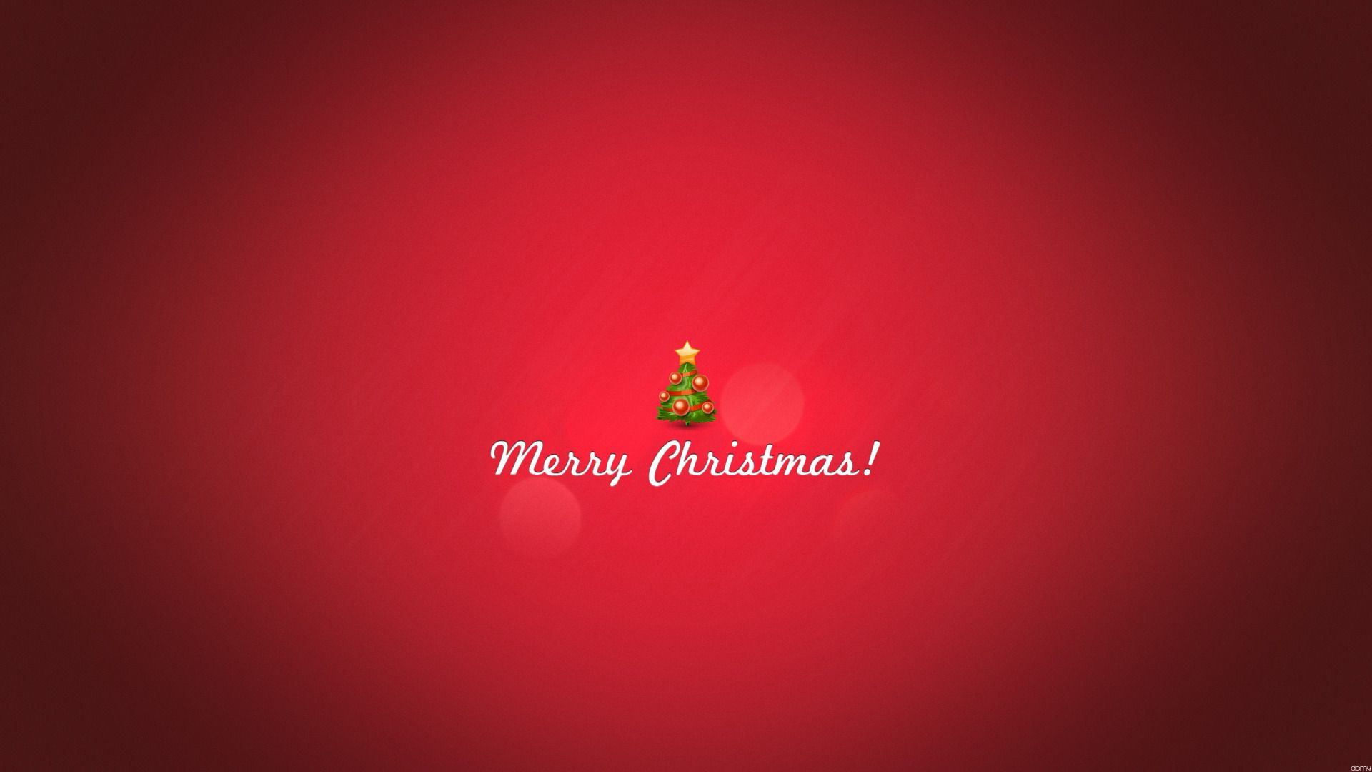 Minimalist Merry Christmas Wallpaper HD 1080p