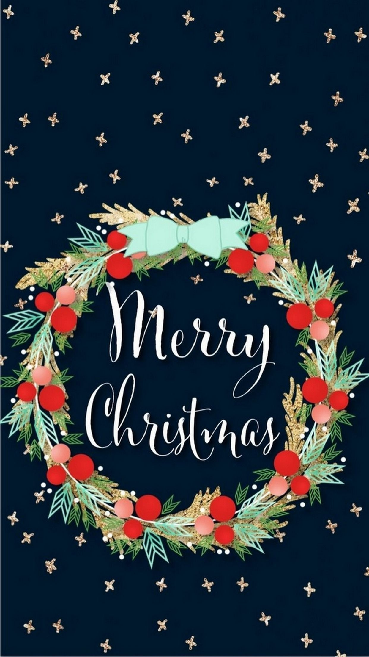 Christmas iPhone 7 7s plus Wallpaper 1242x2208