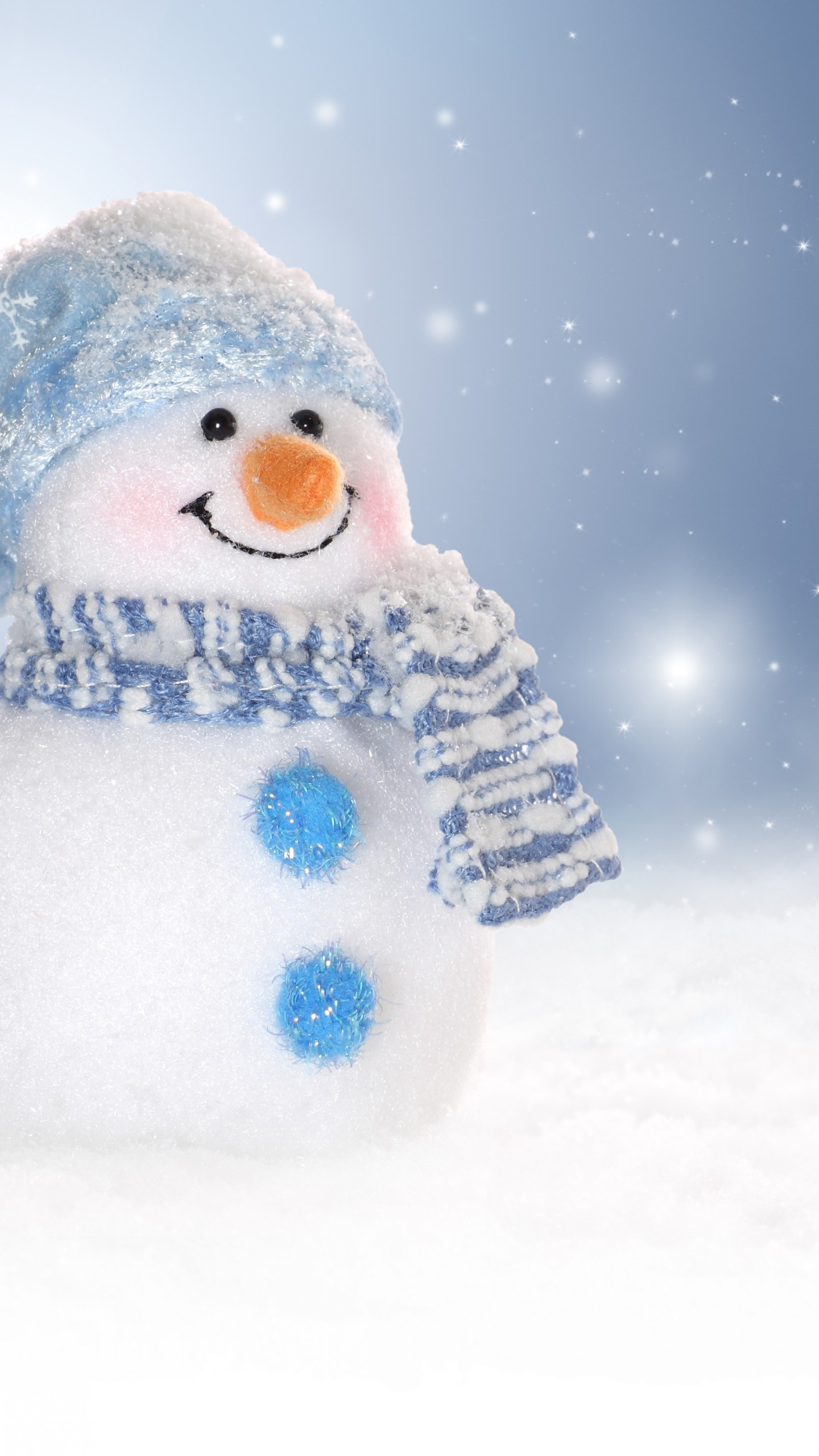 Cute Snowman iPhone Wallpaper 1440x2560