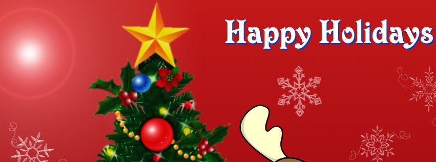 Happy Holiday Facebook Covers Photo