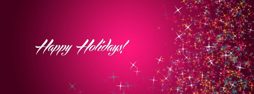 Happy Holiday Facebook Timeline Cover