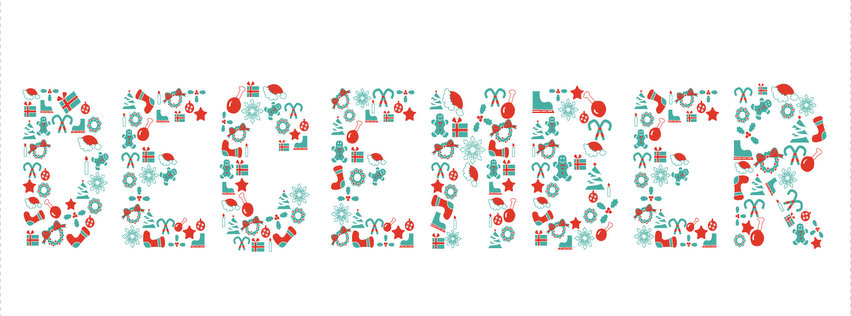 Happy Holidays December FB Cover Picture