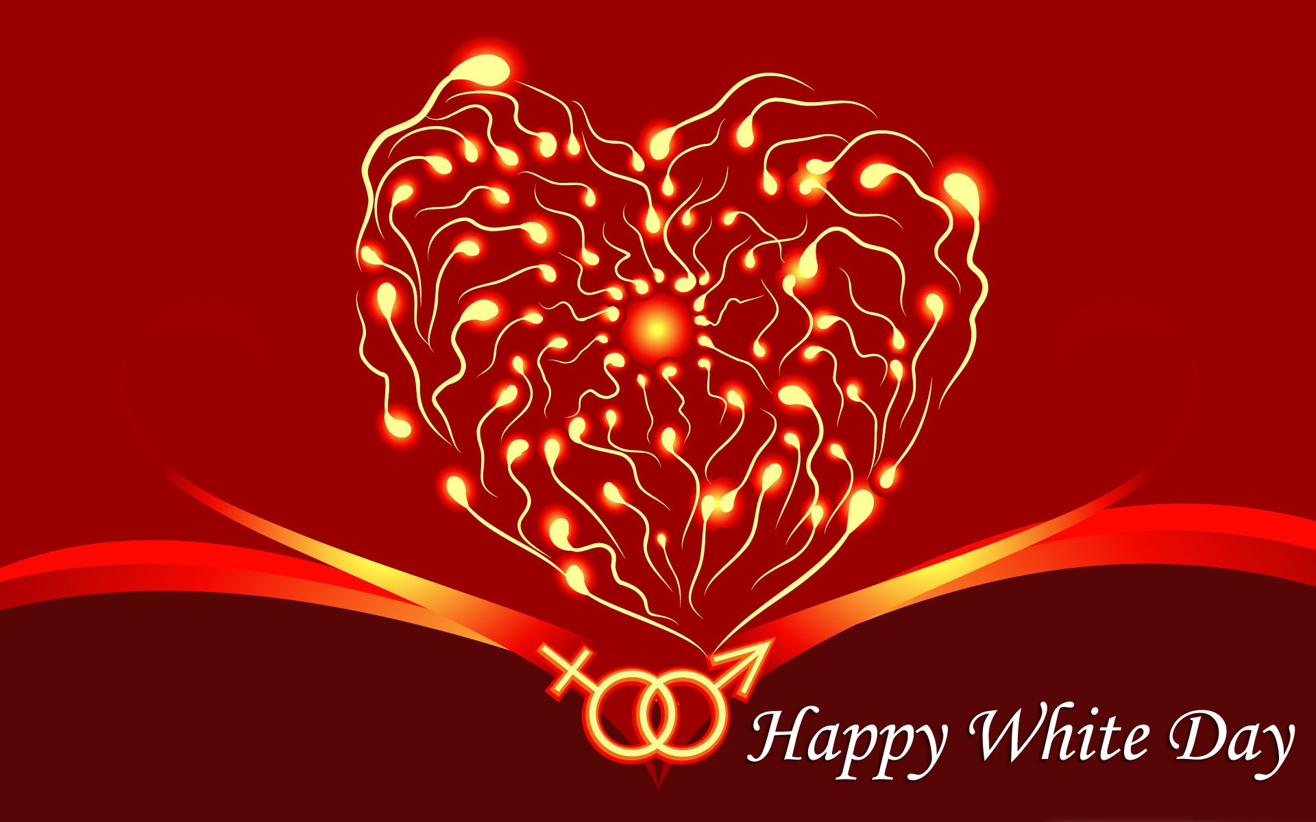 Happy White Day  Widescreen Desktop Wallpaper 1920x1200