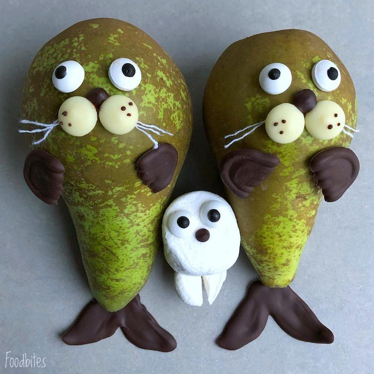 Food Artist Crafts Quirky Characters