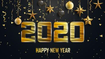 2020 Happy New Year Wallpaper HD 1920x1080