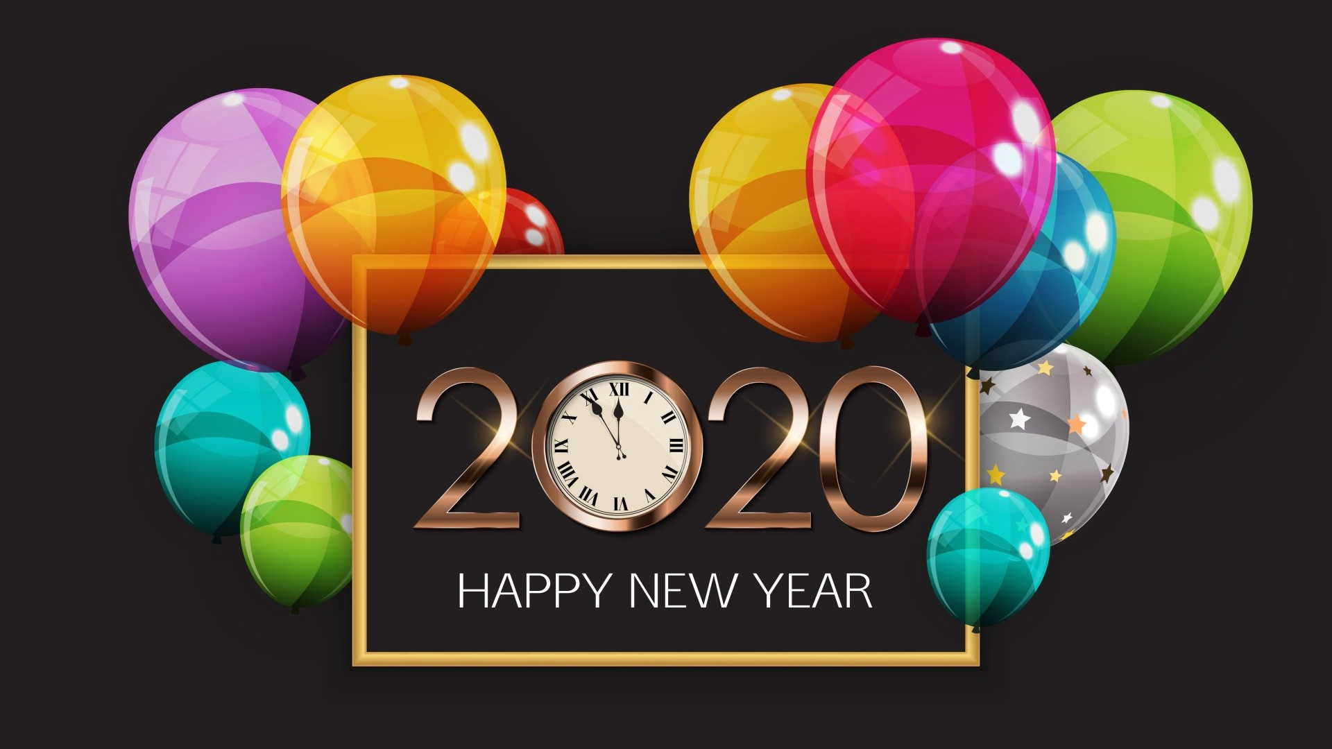 2020 Happy New Year Images HD Wallpapers