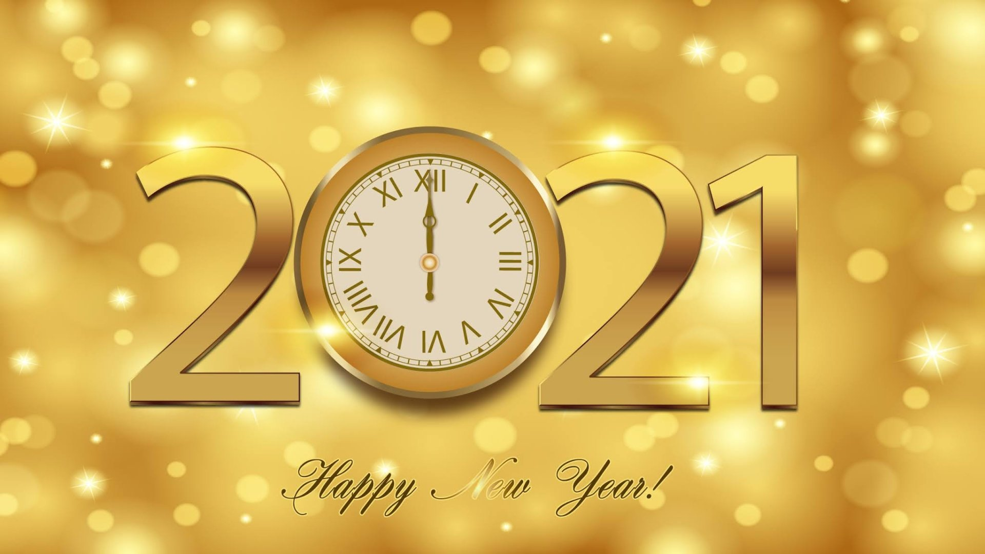 Happy New Year Images HD Wallpaper 1920x1080
