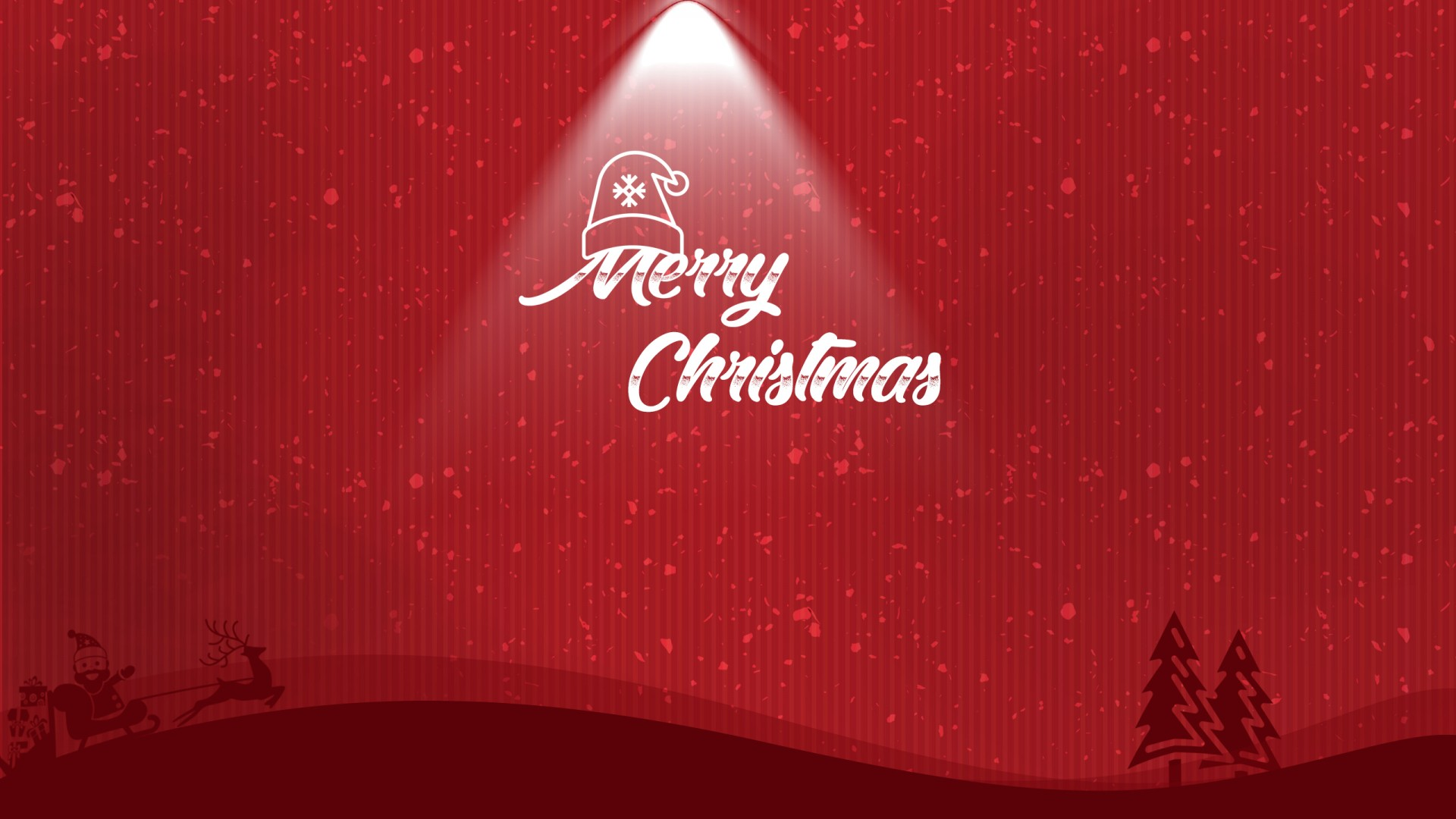 Minimal Merry Christmas Wallpapers