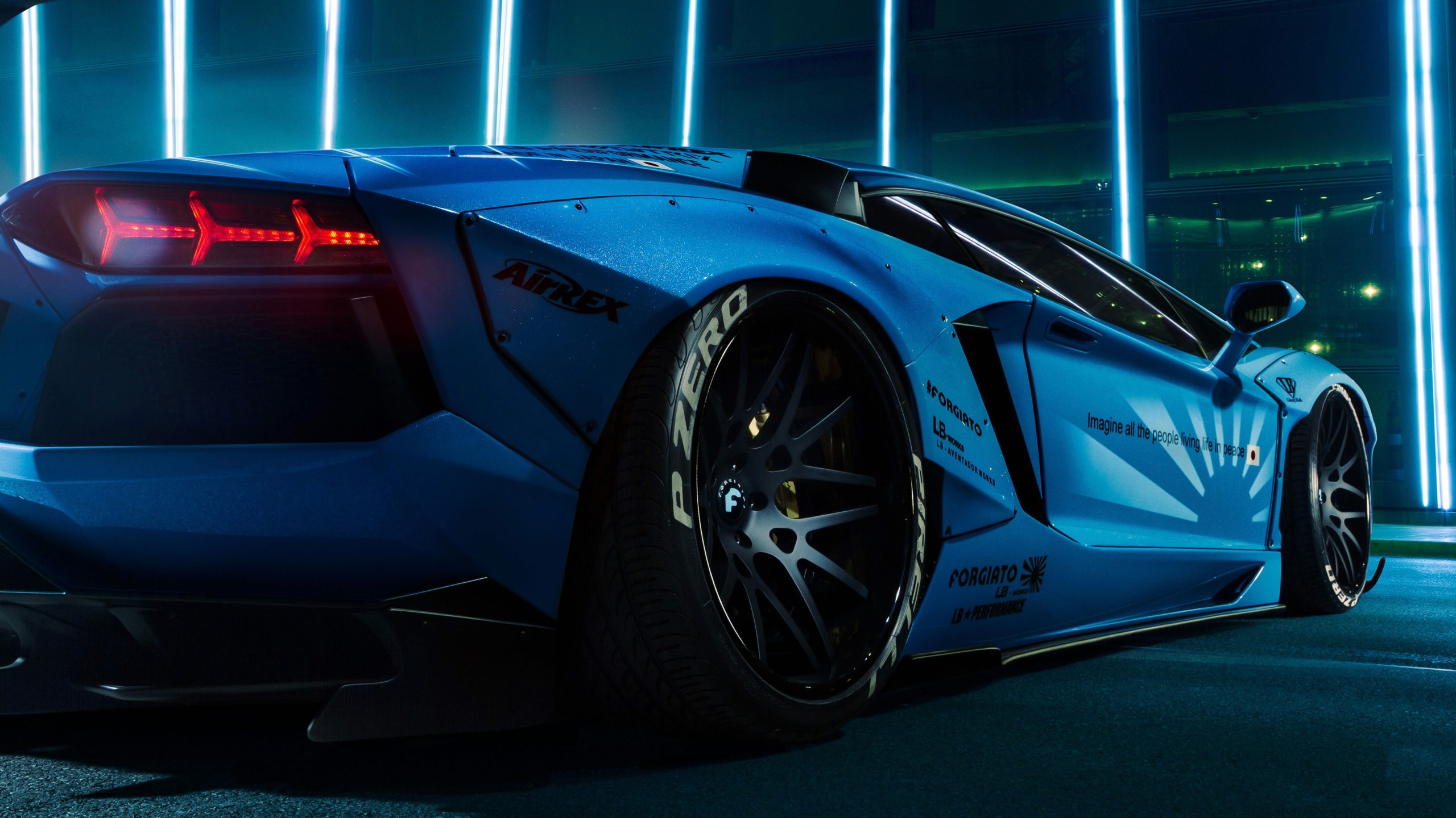 Lamborghini Aventador 4K Wallpaper HD