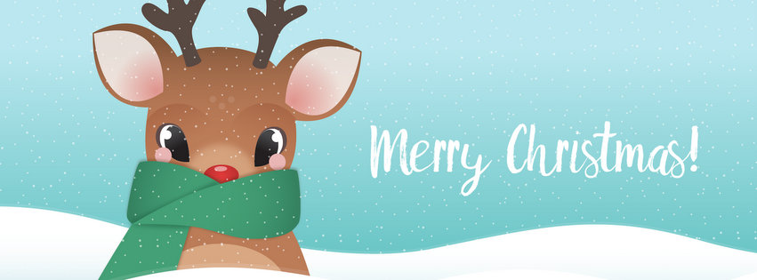 Merry Christmas Facebook Profile Cover Photo