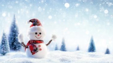Snowman Crafts Photography 4K Wallpaper 3840x2400